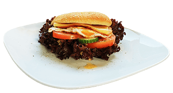 Produktbild Breakfast Burger